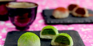 19 banh mochi tra xanh